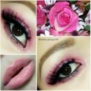 Pink valentine glitter