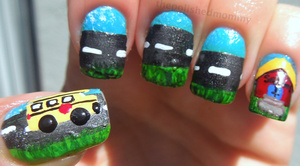 For more pics and full details: http://www.thepolishedmommy.com/2012/09/back-2-school.html