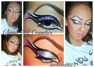 http://www.glamagirlcosmetics.com/ Check out our website for the products i used on this look!!! Brown Glycerin Palette!!! ♥ ♥ ♥ this palette!!!! Also please check out my fan page!!!! http://www.facebook.com/pages/Anastasia-Makeup-Artist/151454631576855