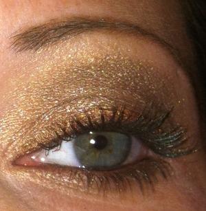 Neutrals with glitter