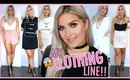 MY OWN CLOTHING LINE!! 😱💯 Haul Try On's & STORYTIME! 💕