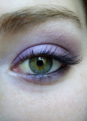 smokey purple eyeshadow tutorial for brown eyes