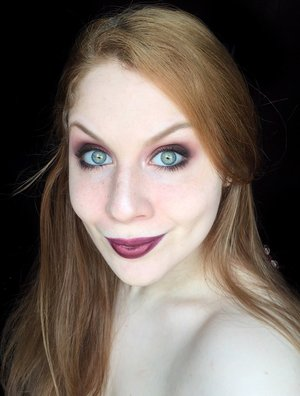 A little recreation of a previous makeup look I had done, however, this time it's with a darker twist! Enjoy XOXO. http://www.thaeyeballqueen.com/makeuplooks/dark-rose-burgundy-autumn-makeup-look/