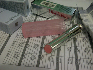 *squee!* @Dior Addict Lip Glow finally came in the mail from! Just in time for my birthday. J'adore Dior. :3