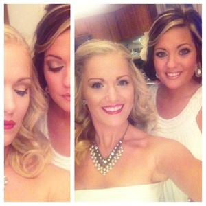 Wedding season is here! We have created an old Hollywood glam look and a classic bridal look! Check out our YouTube channel this week for more details!