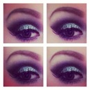 Silver and back eyes with a cut crease xox