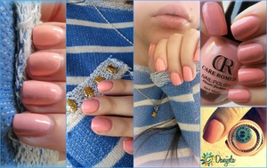 31 day nail polish challenge Care Romeis (peach/pink) #88