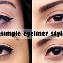 4 Simples Eyeliner Styles