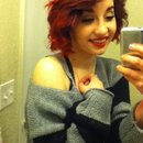 Got my red hair on