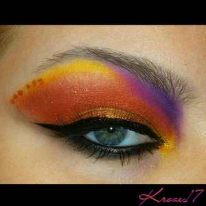 My first look of 2015! I used pretty much all the @sugarpill colors I own! I took inspiration from so many things. Since I haven't played with Makeup so awhile This was a mash up from every awesome picture I've seen! Ha I tried gray boxy brows but they came out super light.  #sugarpill #colorful #bright #trends #bold #makeuptrends #makeup #makeupforever #nyxcosmetics #glitter #Urbandecay #toofaced #covergirl #Lorac #makeuplook #cosmetics #beauty #beautyproducts #beautyshot #instabeauty #instamakeup #Kroze17   Join me on Instagram and Facebook @Kroze17