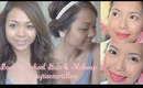 Easy Back-to-School Hair Styles & A Makeup Tutorial by Lindsay Artillero ♥