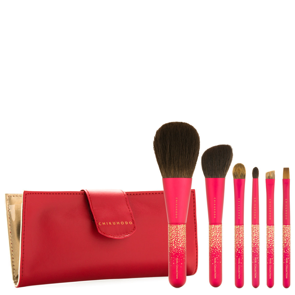 CHIKUHODO Noel Collection Rouge Brush Set product smear.