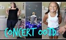 PLUS SIZE CONCERT OOTD   SHAWN MENDES W/CONCERT CLIPS