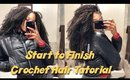 Full Crochet Tutorial: Isis Collection Caribbean Bundle Braids Bohemian Soft Water | Divatress.com
