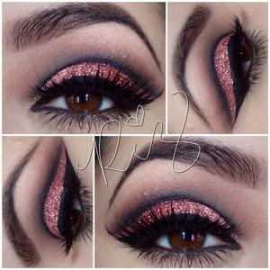 Instagram @makeupbyriz for details.