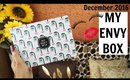 MY ENVY BOX December 2016 | Unboxing & Review | Lashes & Pout Edition | Stacey Castanha