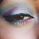 Rave Smokey Eye