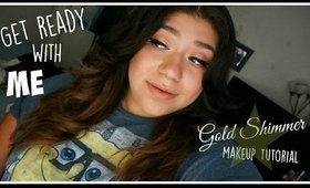 Get Ready with ME Golden Shimmer Makeup Look
