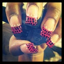Hot Pink And Polka Dots