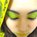 Toxic Green and Yellow
