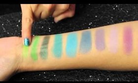 Kat Von D Mi Vida Loca Palette Review and Swatches