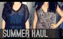 Huge Summer Clothing Haul & Try on