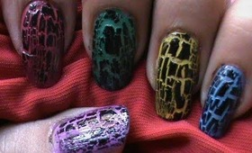 Videos of Nails Inc. London Special Effects Crackle Top Coats ...