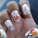 bday nails!