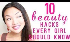 10 Beauty Hacks Every Girl Should Know!