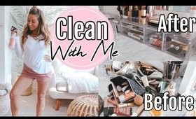 CLEAN AND ORGANIZE WITH ME 2020// My cleaning routine!
