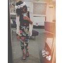 My style :) FLORAL.