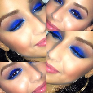 """I used the urban decay vice palette and the shade """"chaos"""" for this look.   Follow my IG for daily makeup posts: @Joleposh"""