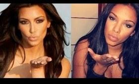 Naked with Kim Kardashian - Tutorial