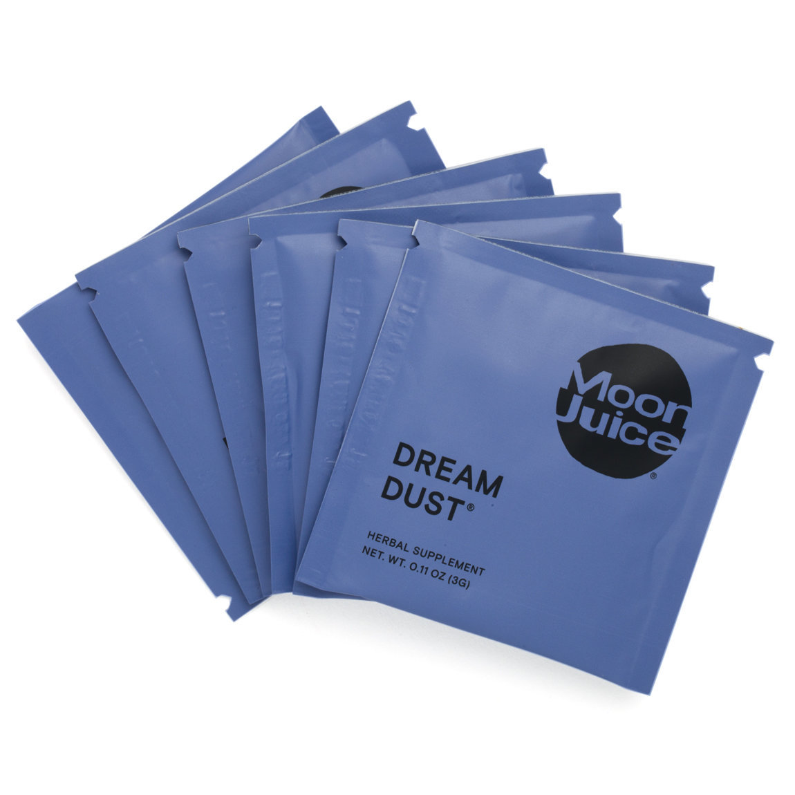 Moon Juice Dream Dust Sachets product smear.