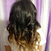 Loose Ombre Homecoming Curls