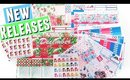 NEW RELEASES: Christmas & Winter Sticker Kits in monthly and weekly! & more!