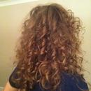 80's curls