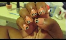 I finally painted my nails...