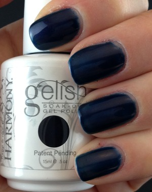 Gelish Caution. Please feel free to visit my blog for more swatches