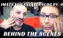 IMATS LOS ANGELES BEHIND THE SCENES VLOG PART 4 #MONDAYMAKEUPCHAT - mathias4makeup