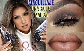 UNA MARCA maquilaje con DOSE OF COLORS / One Brand makeup tutorial   auroramakeup