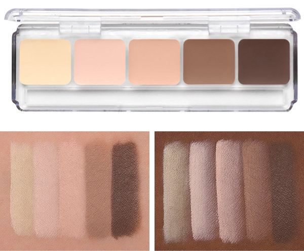 RCMA Makeup Highlight and Contouring Palette