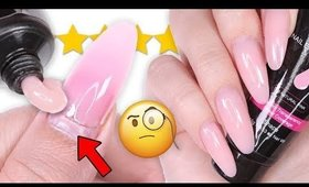 CAN YOU FILL POLYGEL NAILS? (DIY/TESTING)