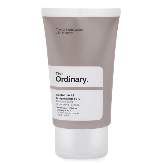 The Ordinary. Azelaic Acid Suspension 10% product smear.