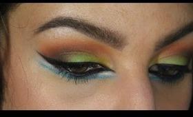 Colorful Arabic Inspired Makeup Tutorial ♥