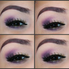 Purple Daytime Look