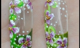 Springtime Bloom Nail Art Tutorial