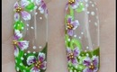 Springtime Bloom Nail Art Tutorial