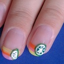 Citrus Nail Design