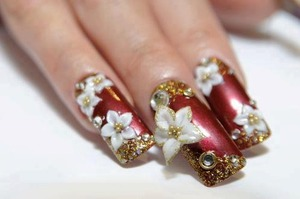 Amazing nail art mind you these are not mine I have reposted for inspiration